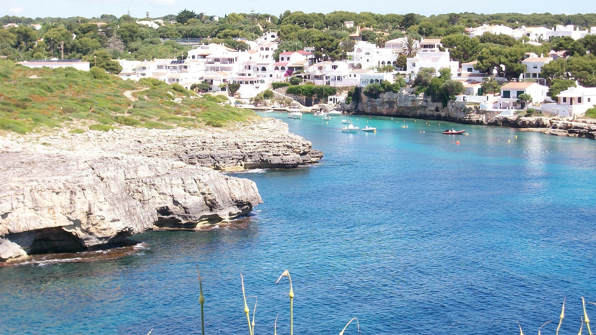 sailing north coast menorca
