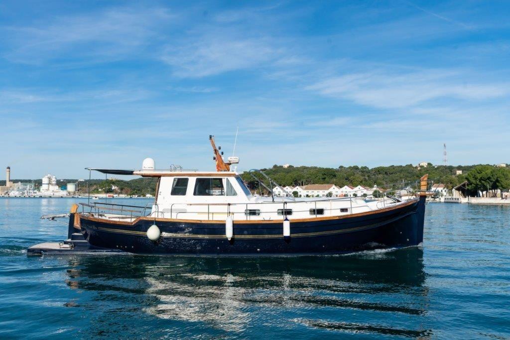 alquiler llaut barco menorquin 160 mahon y menorca