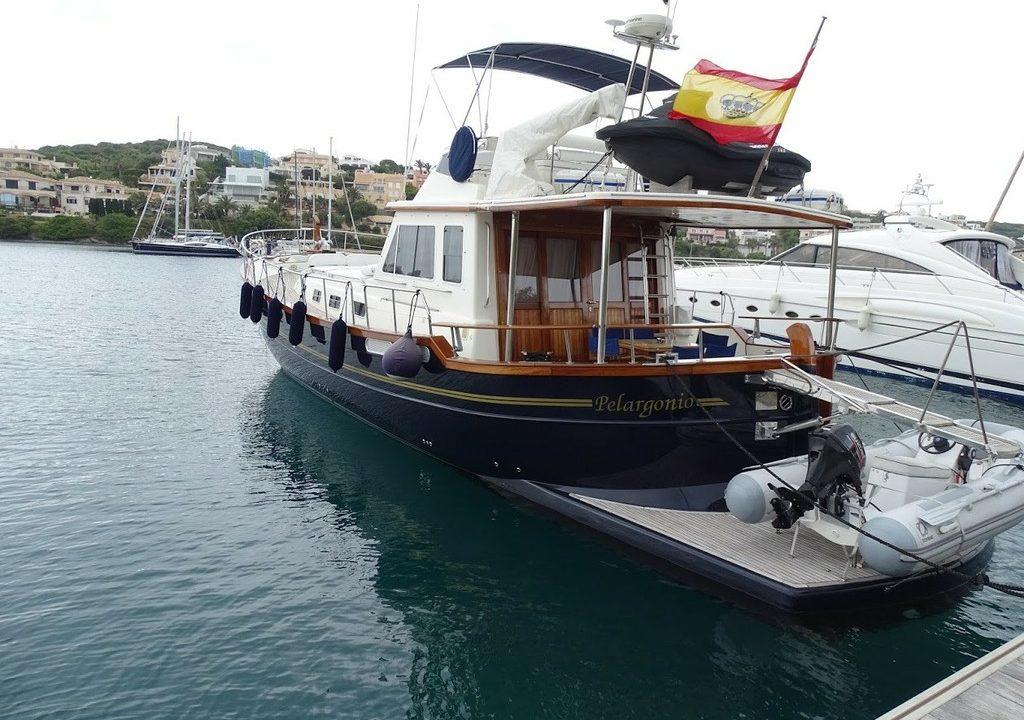 menorquin 180 llaut alquiler barcos en menorca