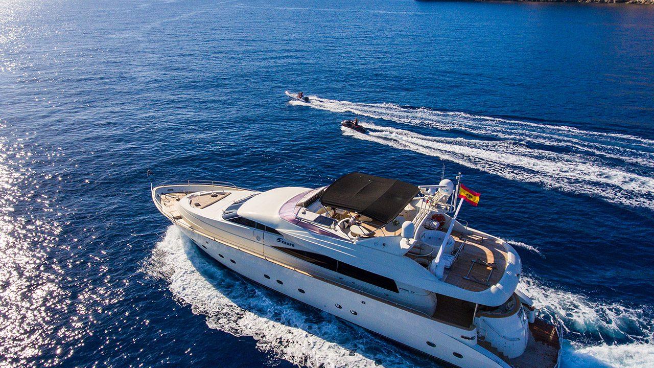 mochi 85 seraph mallorca ibiza motor yacht charter