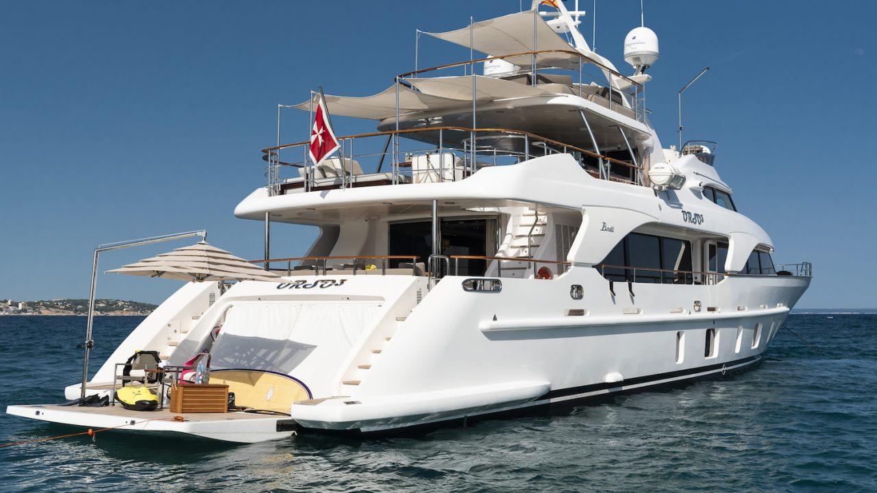 benetti orso 3 luxury boat rental