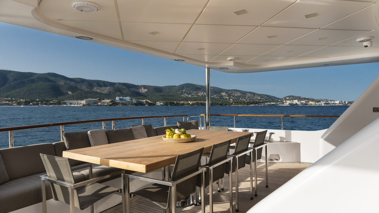 benetti orso 3 luxury boat rental
