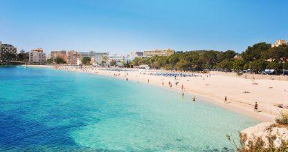 las mejores playas y calas de mallorca palmanova