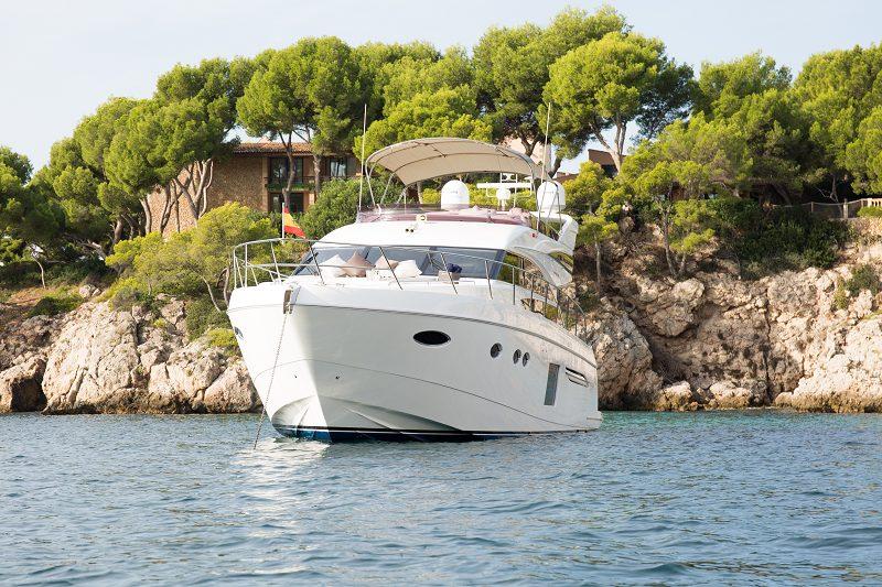 princess 64 mio barco alquilar yates de motor mallorca menorca