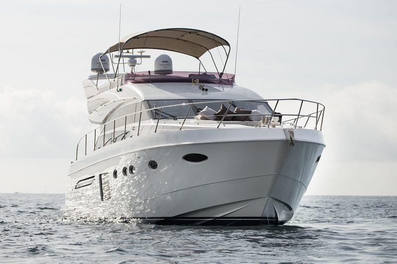 princess 64 mio barco alquilar palma mallorca