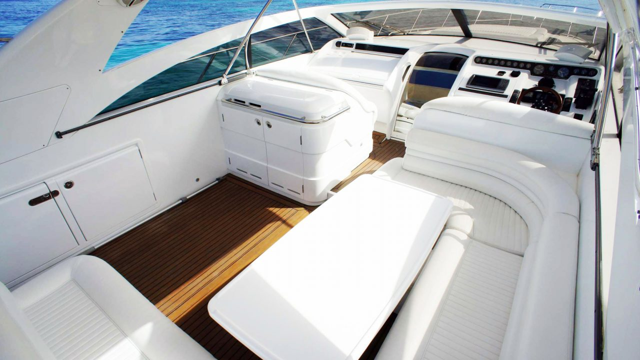 day charter ibiza princess v55 if