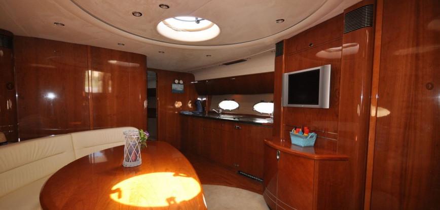 menorca crewed yacht charter princess v58
