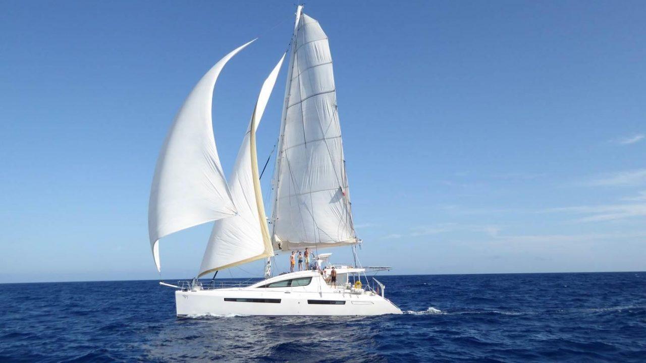privilege 615 audaz catamaran menorca