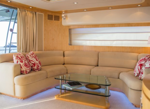 crewed charter ibiza riva 70 cool boy