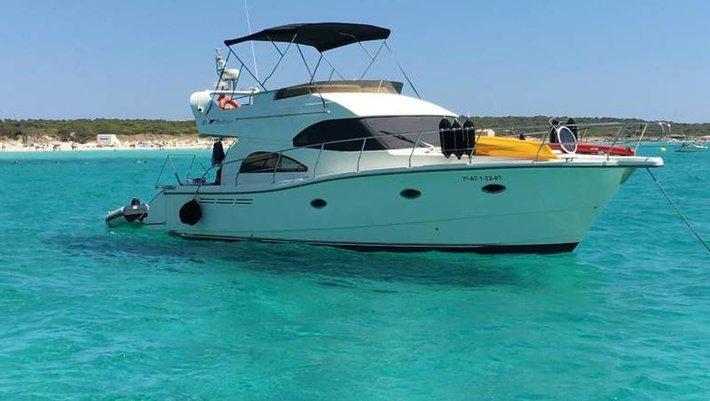 menorca boat charter rodman 41 sea walker