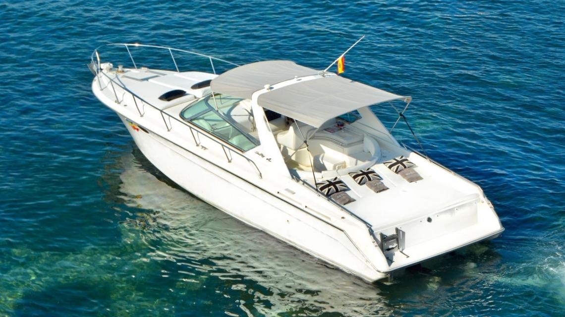 ibiza alquiler barcos sea ray 38