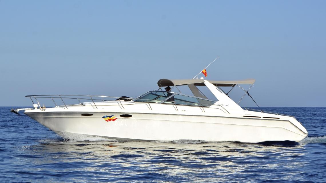 ibiza boat charter sea ray 38