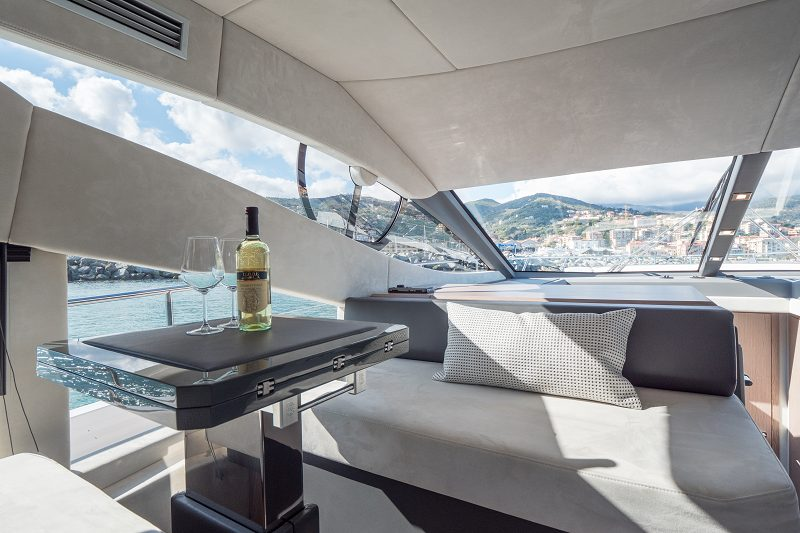 sessa fly 54´ flying dori yacht charter mallorca ibiza