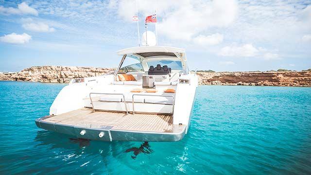 ibiza yacht rental sparrow 58 linea rossa