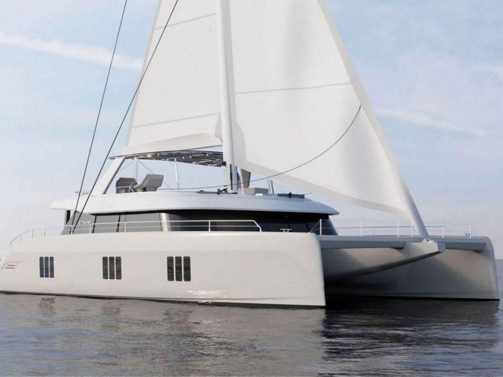 sunreef 60 sunbreeze alquiler catamaran islas baleares