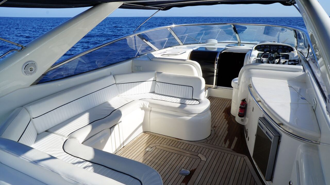 alquiler barcos motor ibiza sunseeker 47 camargue