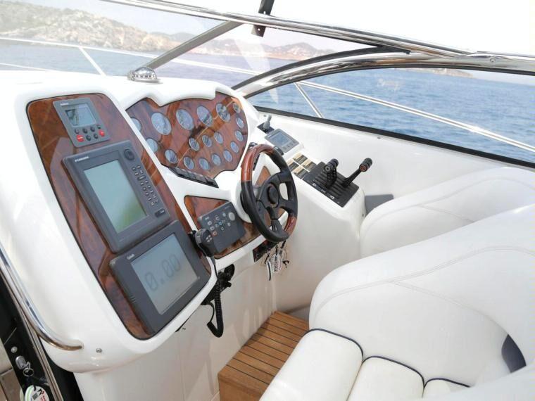 boat charter ibiza sunseeker