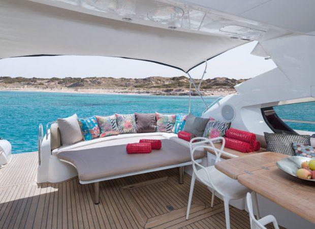 sunseeker 68 tranquility yachts ibiza rental
