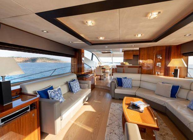 sunseeker 70 cala di luna luxury yacht rental ibiza barcelona