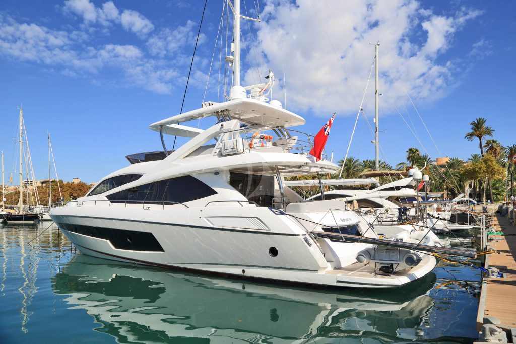 sunseeker 75 charter mallorca rental yachts