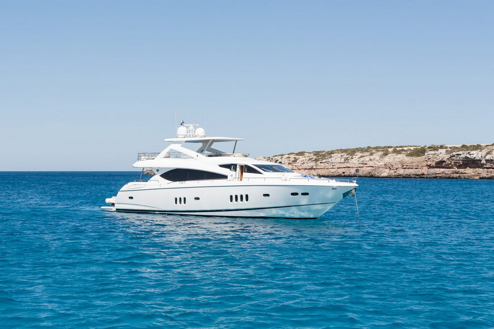 sunseeker 88 lijor luxury boat rental ibiza