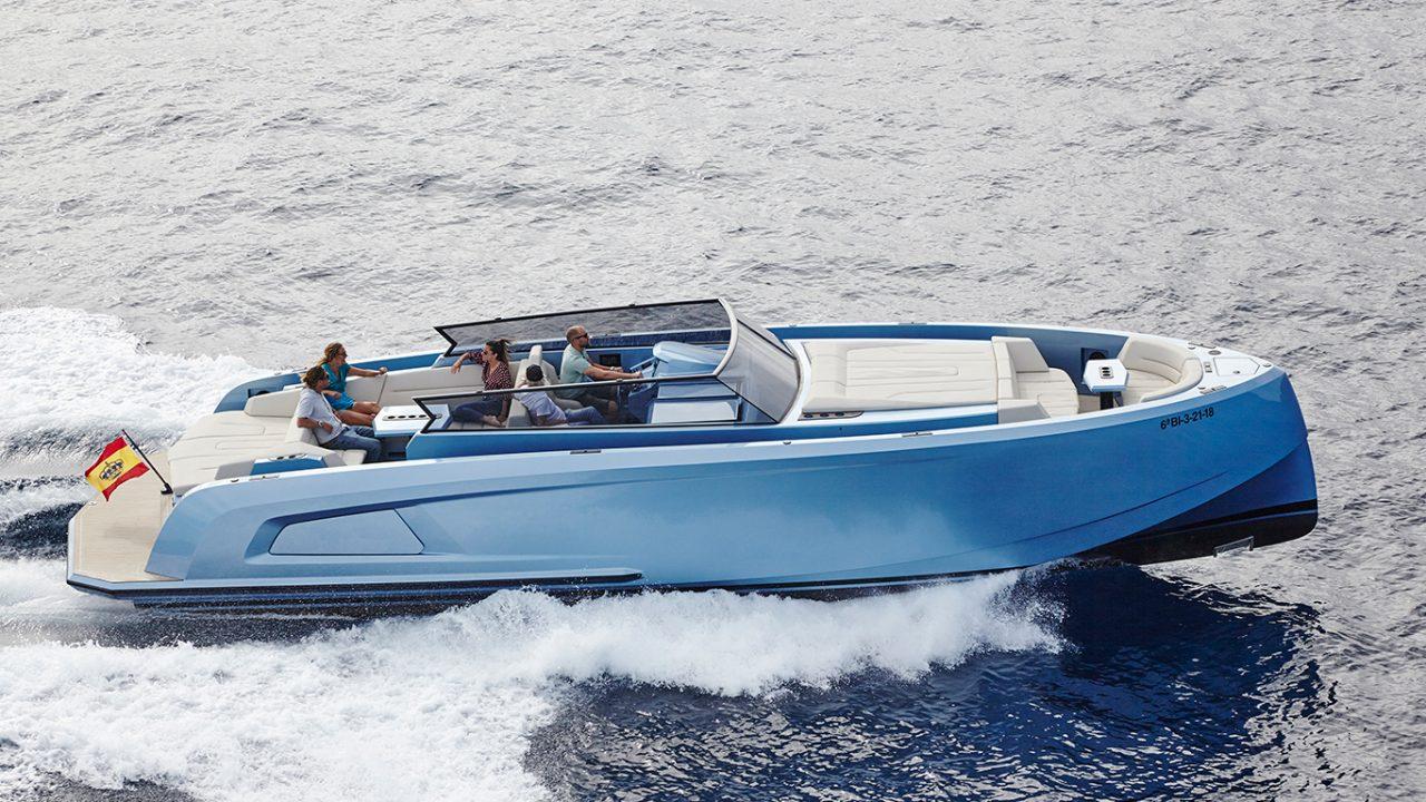 alquilar barco ibiza formentera vanquish 45 sal