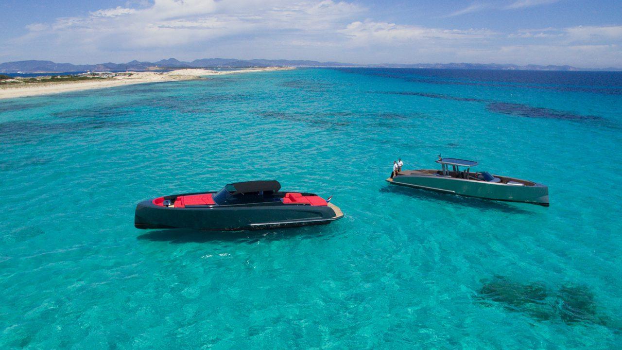 ibiza formentera boat charter vanquish 48 lady thunder