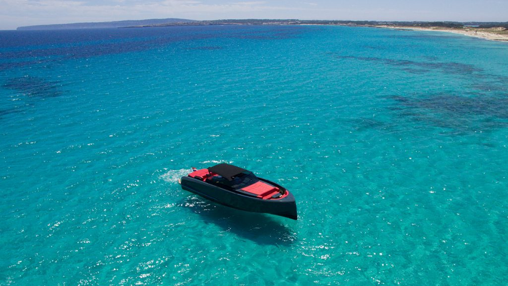 ibiza formentera alquiler barcos vanquish 48 lady