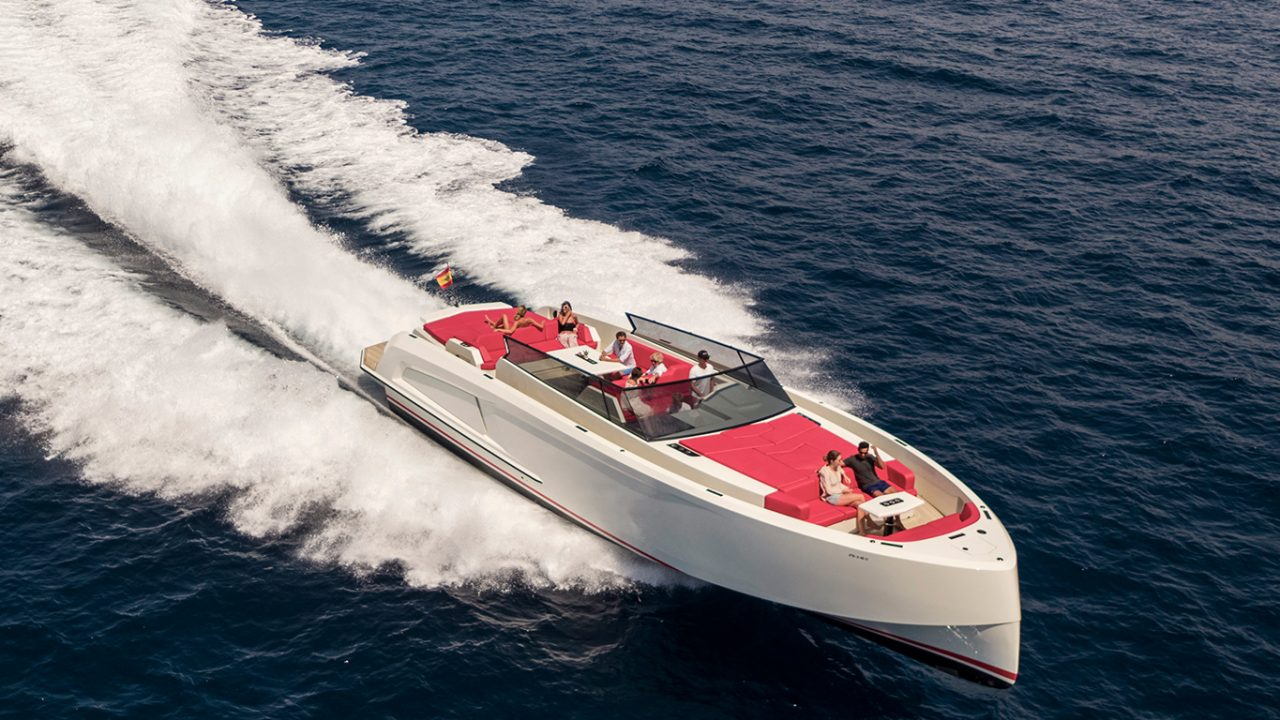 luxury yacht charter ibiza vanquish 54 diva